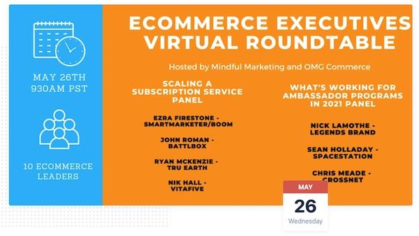 Ecom Virtual Roundtable